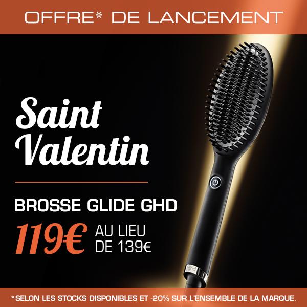 Saint Valentin : brosse GHD Glide