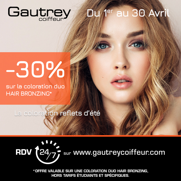 -30% sur la coloration duo HAIR BRONZING