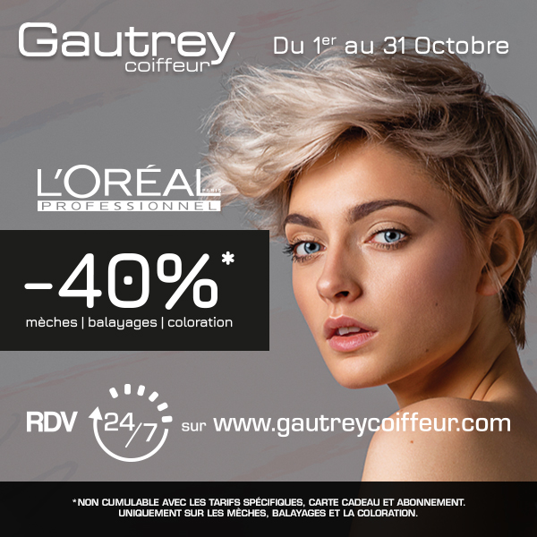 """Le Blond"" by Gautrey – du 1er au 31 Octobre"